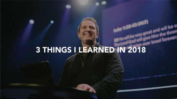 3 Things I Learned In 2018 Image